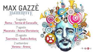 Max Gazzè Tour Alchemaya
