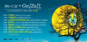 Max Gazzè La Matematica dei Rami Tour 2021